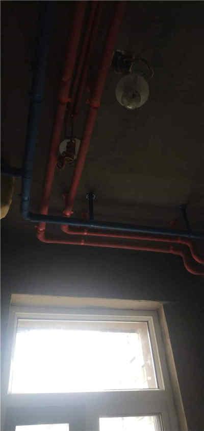 新乡装修,蓝堡湾49号楼装修施工现场